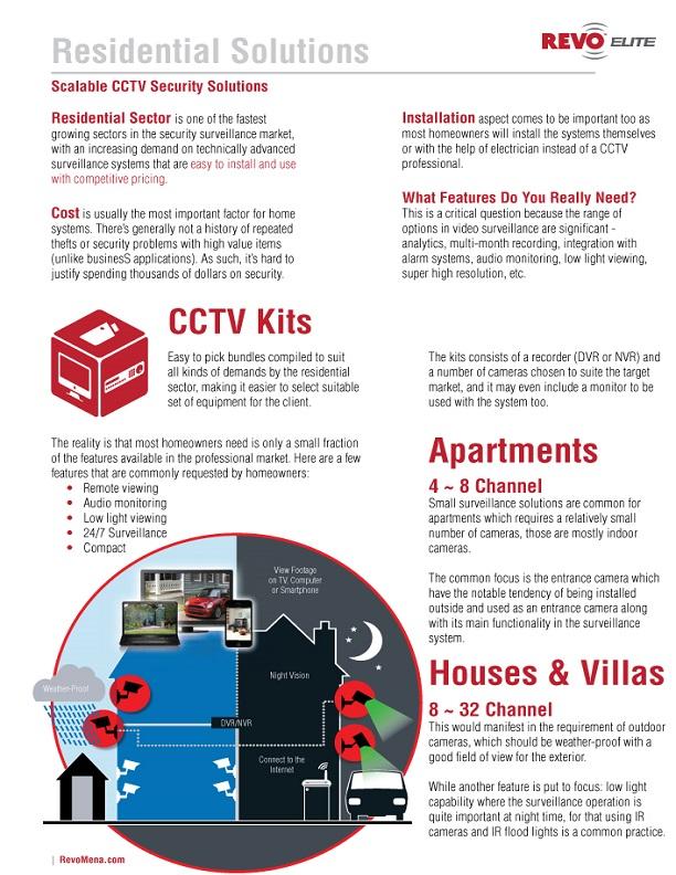 REVO Residential Solutions Brochure